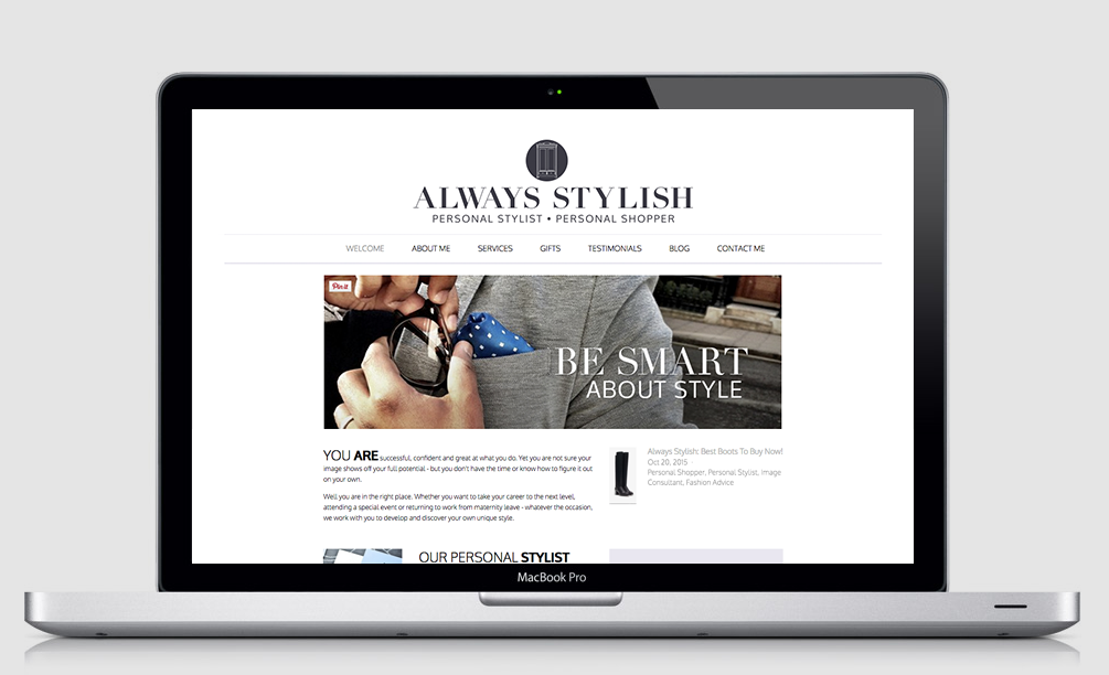 Always Stylish Website