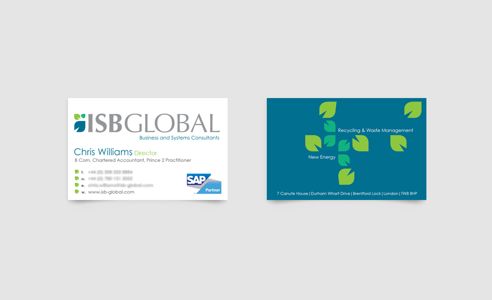 ISB Global Business Card